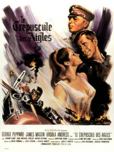 le crepuscule des aigles the blue max 1967 real : John Guillermin James Mason George Peppard Ursula Andress